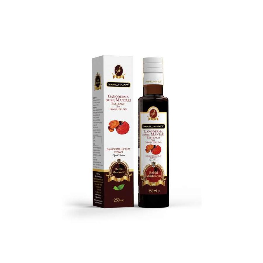 Ganoderma (Reishi Mantarı) Sıvı Ekstraktı (250 ml)