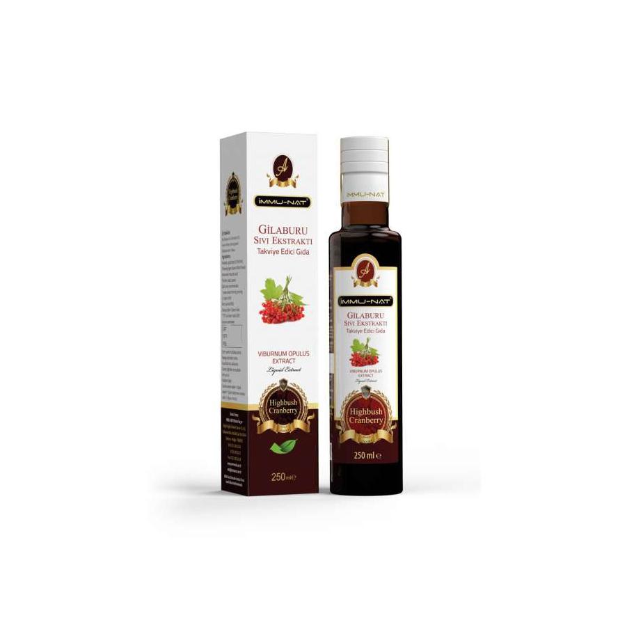 Gilaburu Sıvı Ekstraktı (250 ml)