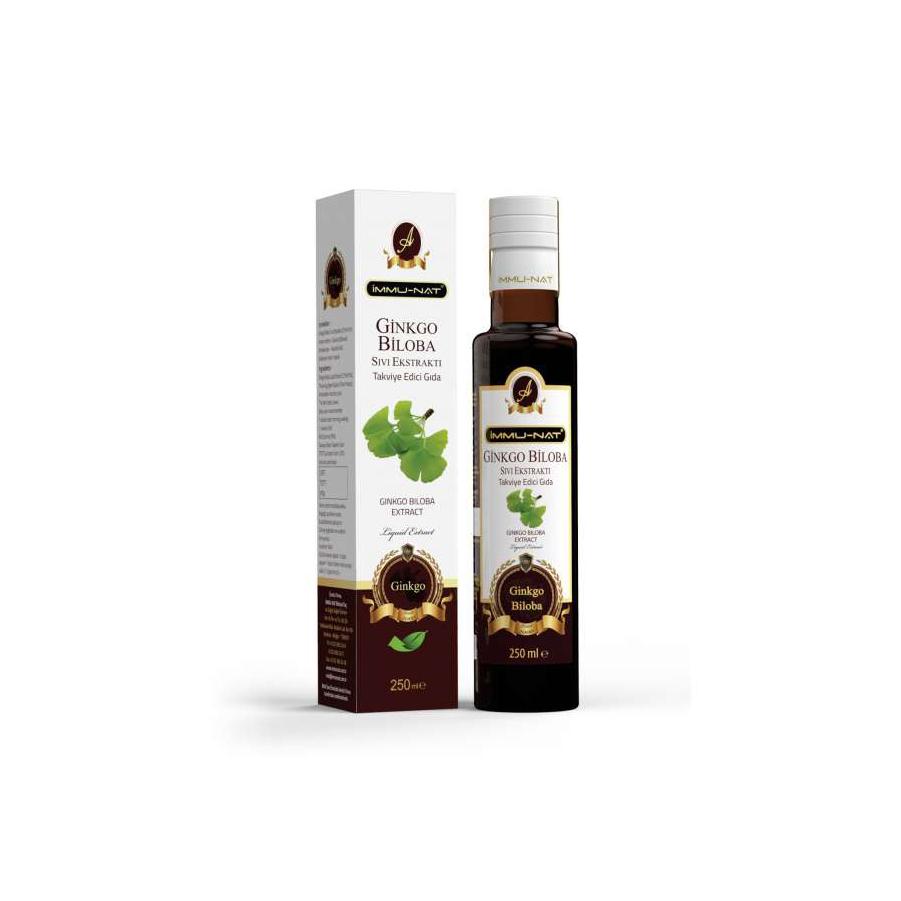 Ginkgo Biloba Sıvı Ekstraktı (250 ml)
