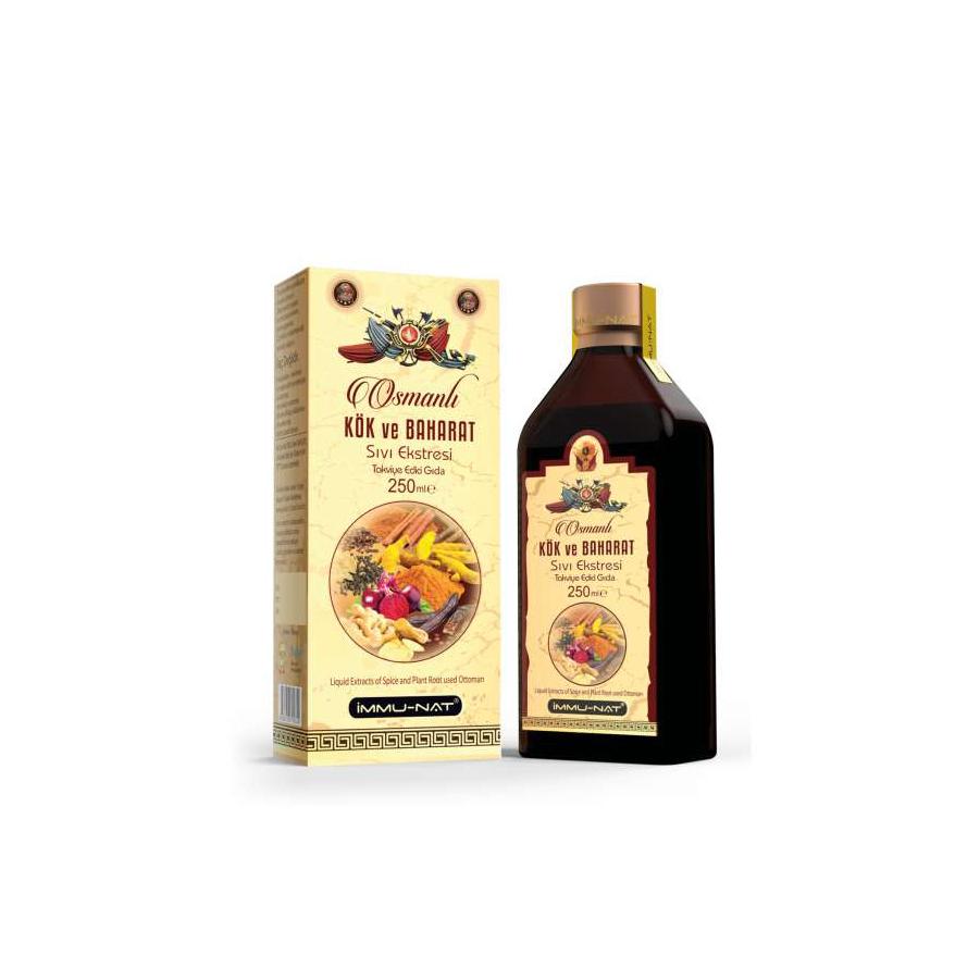 Osmanlı Kök ve Baharat Sıvı Ekstraktı (250 ml)