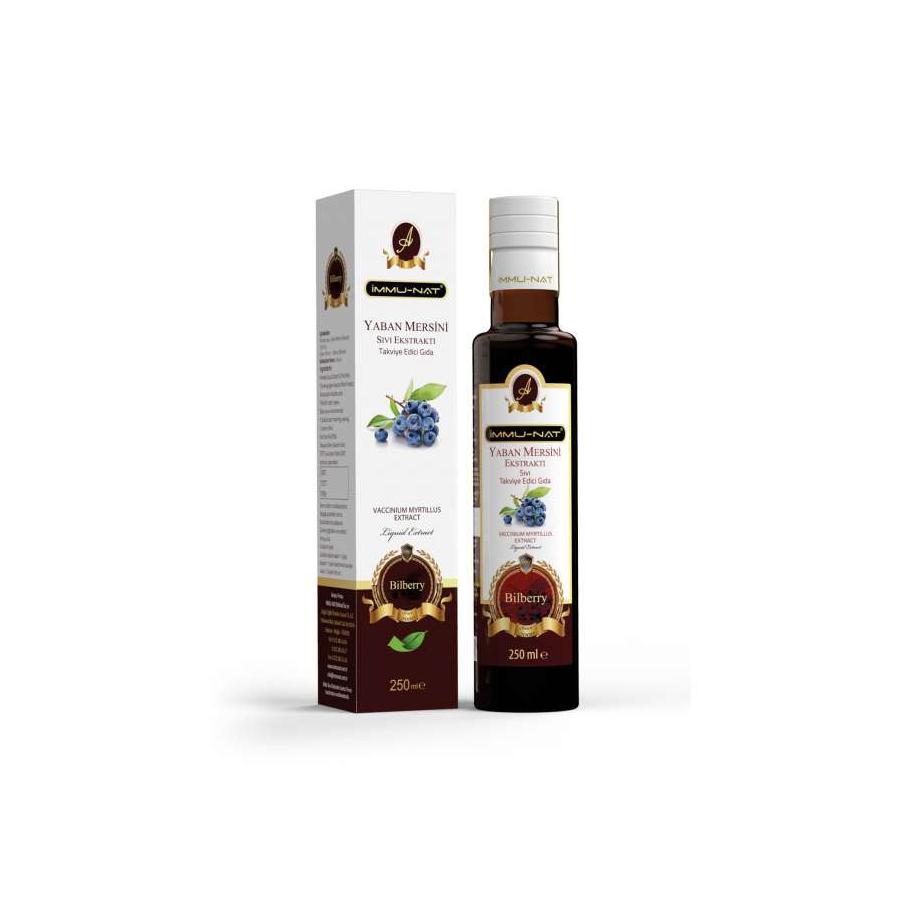 Yaban Mersini Sıvı Ekstraktı (250 ml)