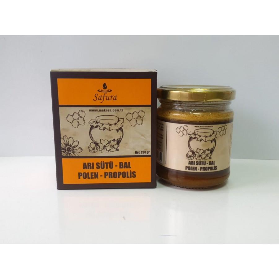 Safura Arı Sütü Balı Polen Propolis